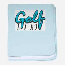 Golf4 baby blanket