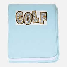 Golf2 baby blanket
