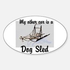 Dog sled Decal