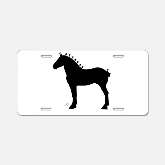 Cool Horse Aluminum License Plate