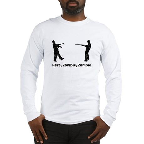 Here, Zombie Long Sleeve T-Shirt