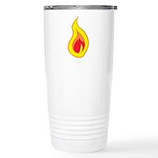 Burning Flame Travel Mug