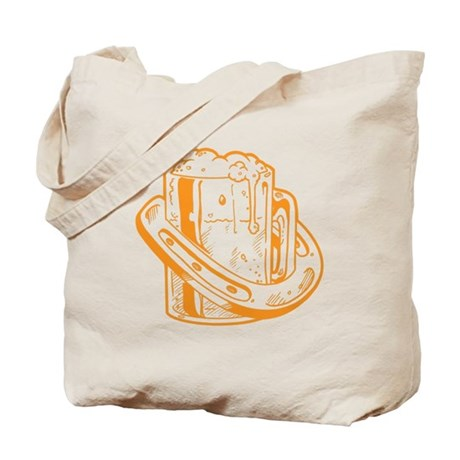 Lucky Horseshoe Beer Tote Bag