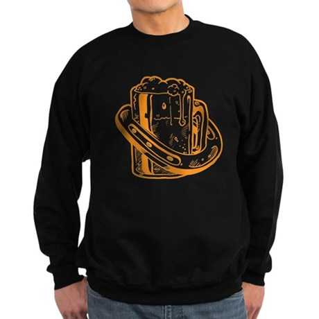 Lucky Horseshoe Beer Sweatshirt (dark)