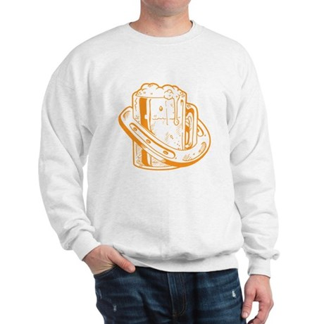 Lucky Horseshoe Beer Sweatshirt