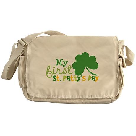 My 1st St. Patty's Day Messenger Bag