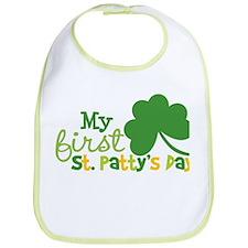 My 1st St. Patty's Day Bib