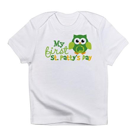 My 1st St. Patrick's Day Owl Infant T-Shirt