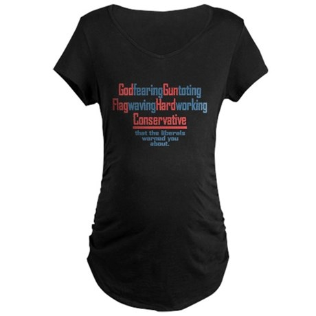 Conservative Maternity Dark T-Shirt
