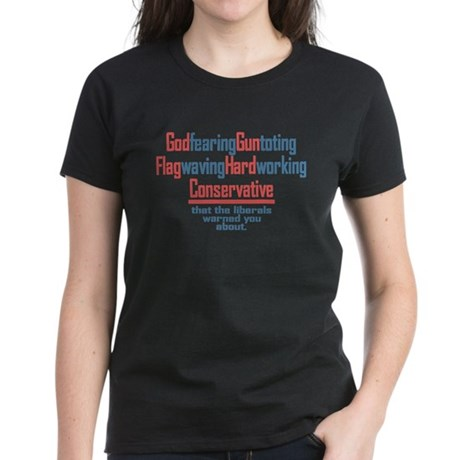 Conservative Women's Dark T-Shirt