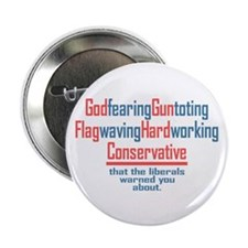 """Conservative 2.25"""" Button (10 pack)"""
