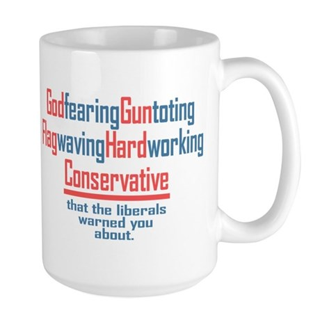 Conservative Large Mug