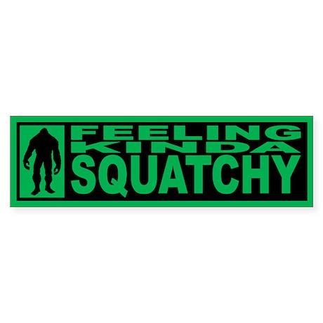 Finding Bigfoot - Squatchy Sticker (Bumper 50 pk)