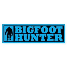 Finding Bigfoot - Hunter Bumper Sticker