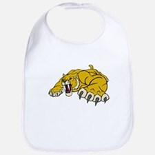 Saber Tooth Tiger Mascot Bib