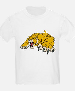 Saber Tooth Tiger Mascot T-Shirt