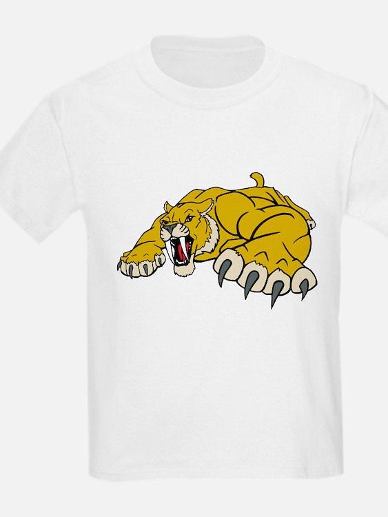 Saber Tooth Tiger Mascot T-Shirt