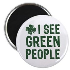 I See Green People Magnet