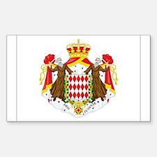 Monaco Rectangle Decal