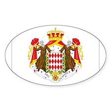 Monaco Oval Decal