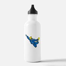 Extreme Snowboarder Water Bottle