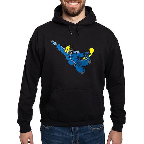 Extreme Snowboarder Hoodie (dark)