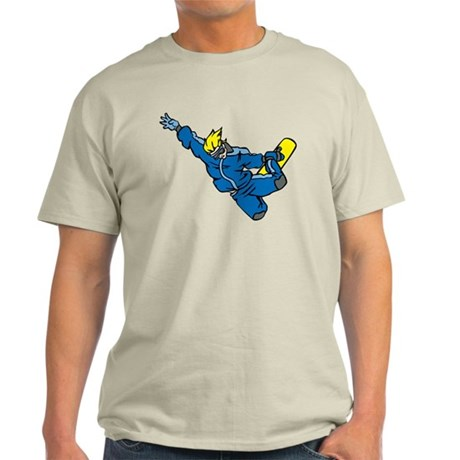 Extreme Snowboarder Light T-Shirt
