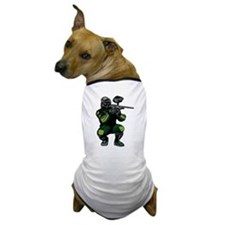 Paintball Player Dog T-Shirt