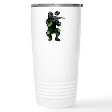 Paintball Player Travel Mug