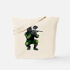 Paintball Player Tote Bag
