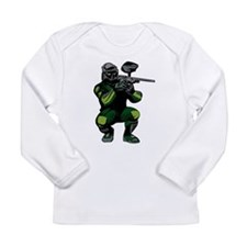 Paintball Player Long Sleeve Infant T-Shirt