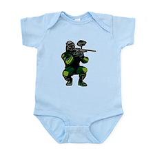 Paintball Player Infant Bodysuit