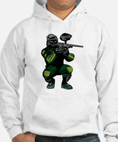 Paintball Player Hoodie Sweatshirt