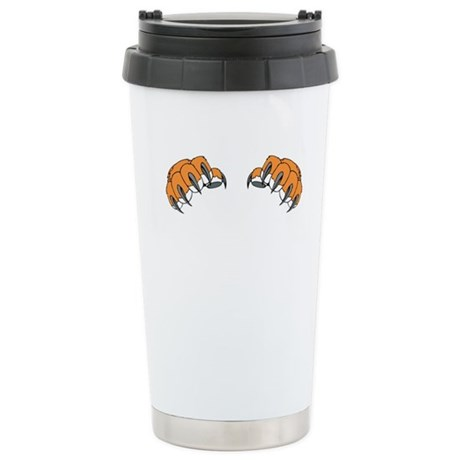 Tiger Claws Stainless Steel Travel Mug
