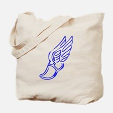 Winged Running Shoes Tote Bag