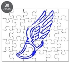 Winged Running Shoes Puzzle