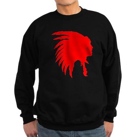 Native American War Chief Sweatshirt (dark)