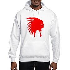 Native American War Chief Hoodie
