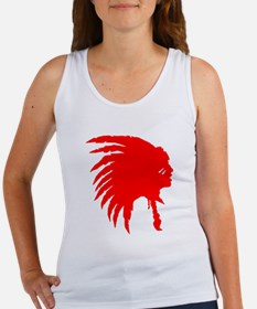 Native American War Chief Women's Tank Top