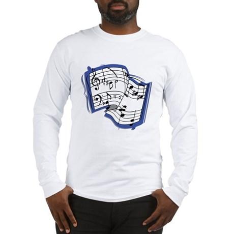 Sheet Music Long Sleeve T-Shirt