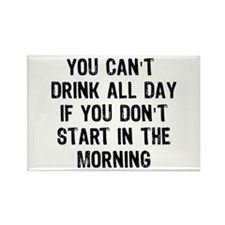 Drink All Day Rectangle Magnet (10 pack)