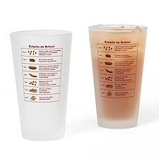 Échelle de Bristol Drinking Glass