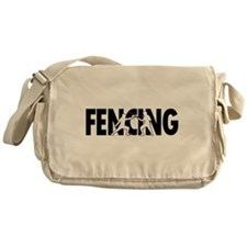Fencing Profiles Messenger Bag