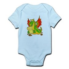 Funny year of the dragon Infant Bodysuit