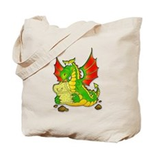 Funny year of the dragon Tote Bag