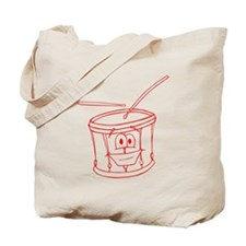 Cartoon Drum Tote Bag
