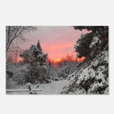 Winter Glow /Postcards (Package of 8)