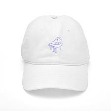 Baby Grand Piano Baseball Cap