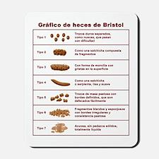 Gráfico de heces de Bristol Mousepad