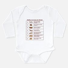 Gráfico de heces de Bristol Long Sleeve Infant Bod